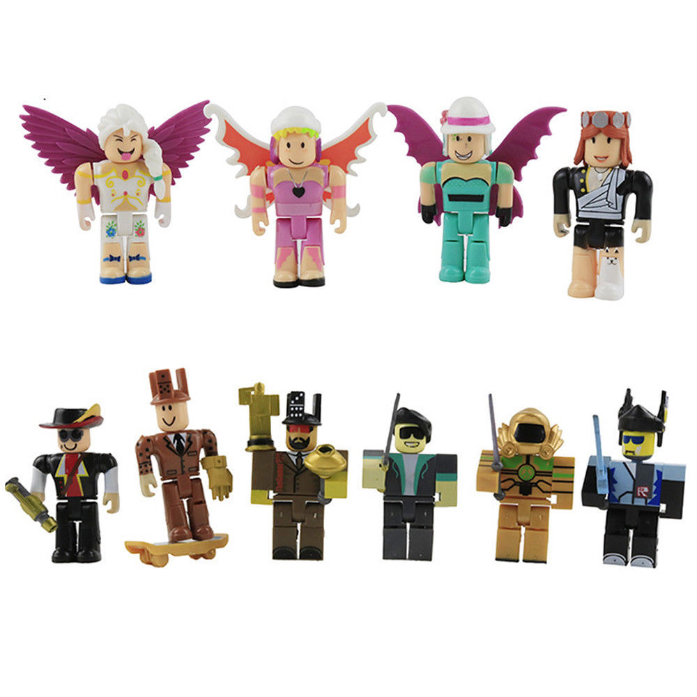 Gifts For Kids That Love Roblox Roblox Action Figure Pvc Toys Figure Pack For Kids 6pcs Set Toyzag
